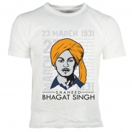 Bhagat Singh T Shirts Manufacturers in Gurgaon